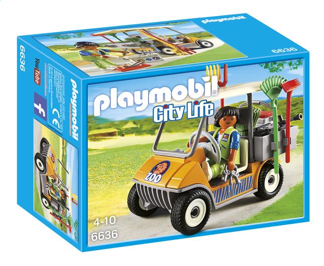 Afbeelding van Playmobil City Life 6636 Dierenverzorger met materiaal from ColliShop