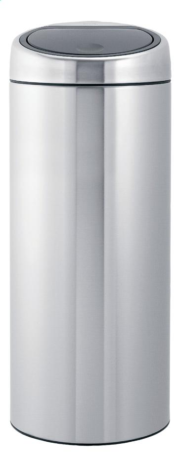 Afbeelding van Brabantia afvalemmer Touch Bin 30 l mat staal FPP from ColliShop