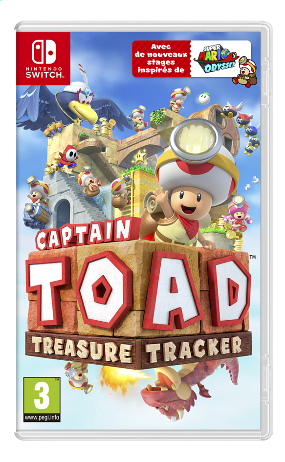 Nintendo Switch Captain Toad Treasure Tracker FR