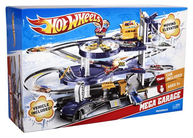 Image pour Hot Wheels Mega Garage à partir de ColliShop