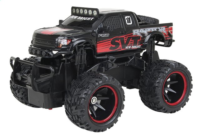 New Bright auto RC Ford Raptor zwart
