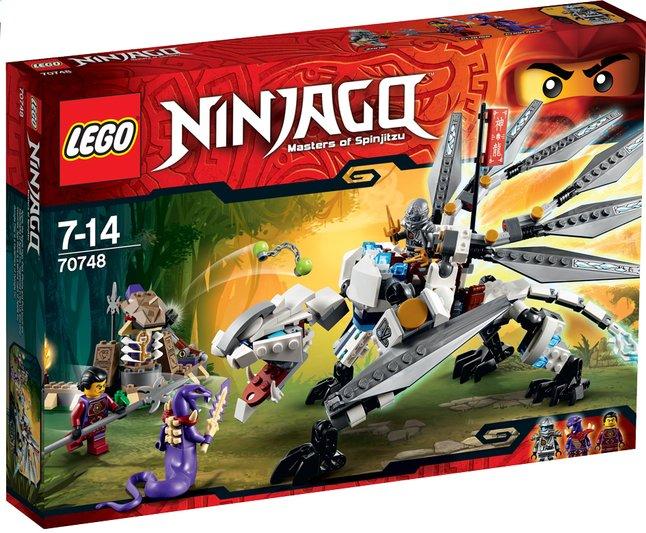 Afbeelding van LEGO Ninjago 70748 Titanium draak from ColliShop