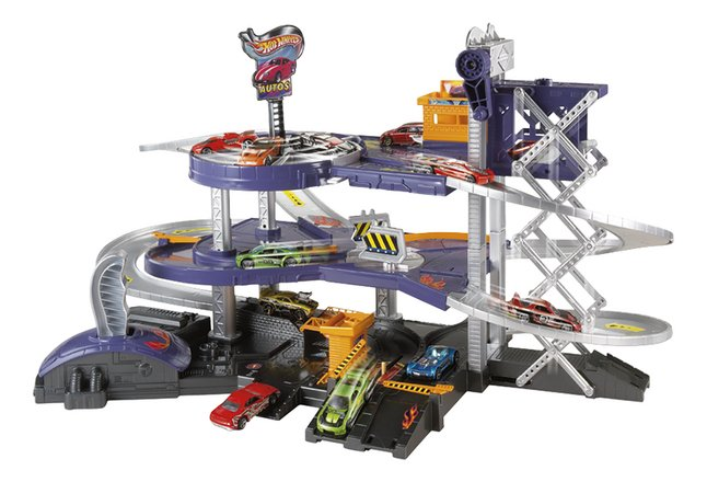 Afbeelding van Hot Wheels Mega Garage from ColliShop