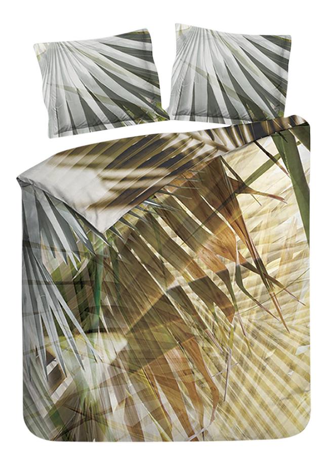 Image pour Heckett & Lane Housse de couette Azulik copper forest satin de coton à partir de ColliShop