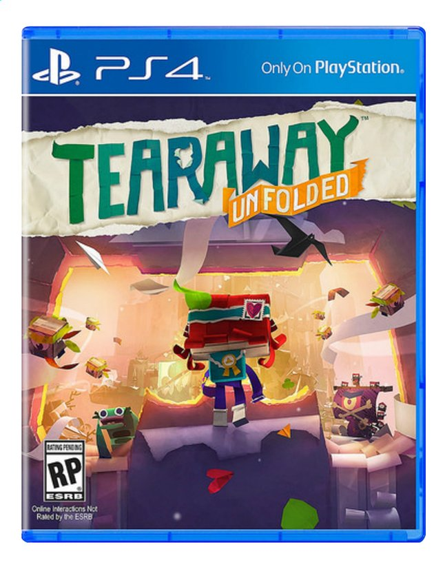 Afbeelding van PS4 Tearaway Unfolded ENG/FR from ColliShop
