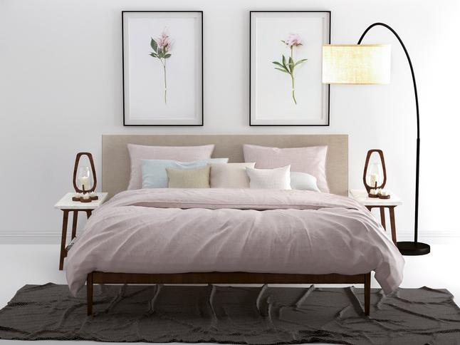 Image pour Zo! Home Housse de couette Lino coton shell nude 200 x 220 cm à partir de ColliShop