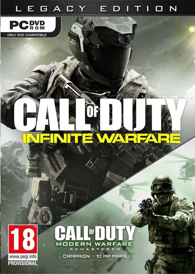 Afbeelding van Pc Call of Duty:  Infinite Warfare Legacy ENG from ColliShop