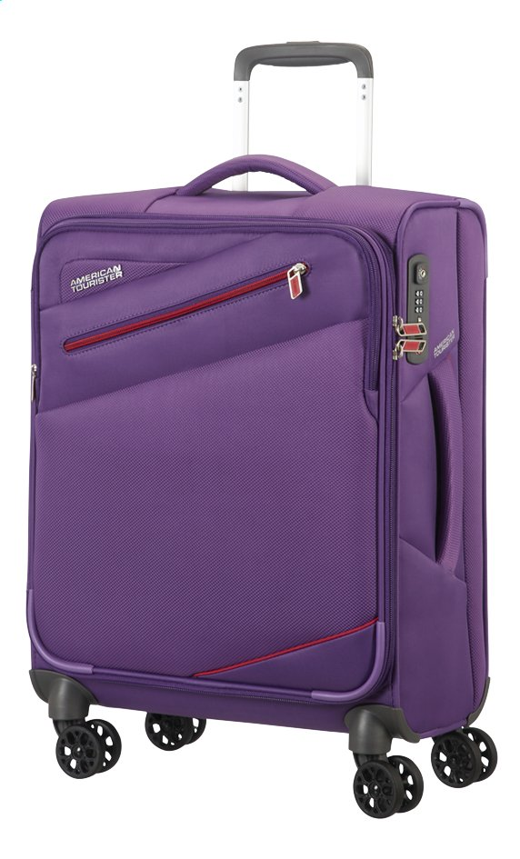 Afbeelding van American Tourister Zachte reistrolley Pikes Peak Spinner moonrise purple 55 cm from ColliShop