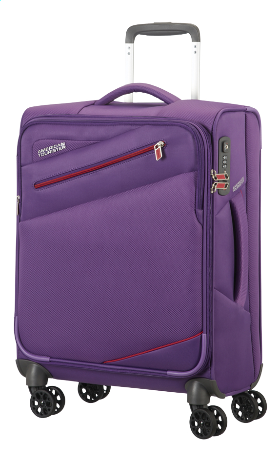 Image pour American Tourister Valise souple Pikes Peak Spinner moonrise purple 55 cm à partir de ColliShop