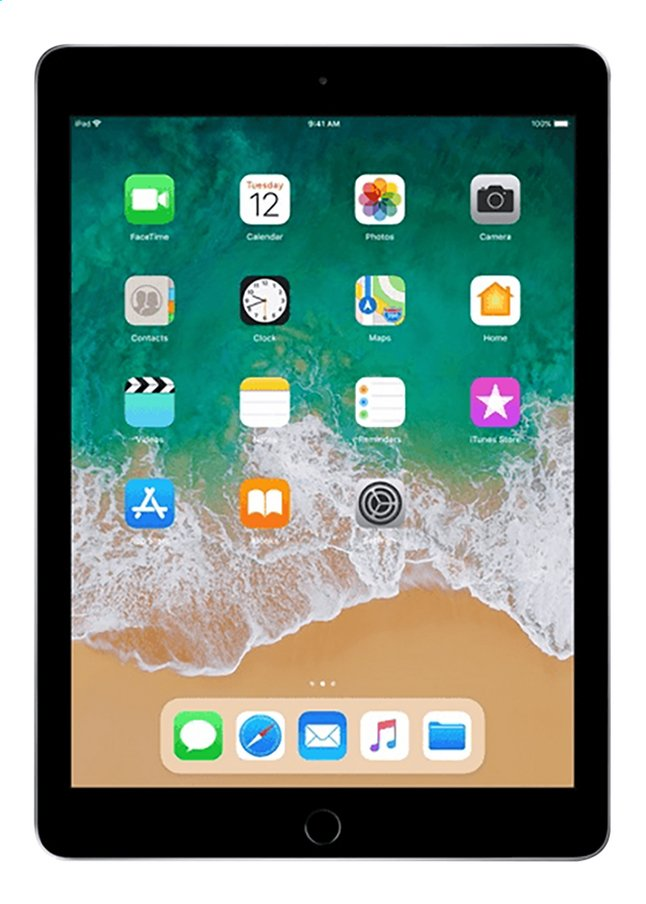 Image pour Apple iPad Wi-Fi 32 Go gris sidéral à partir de ColliShop