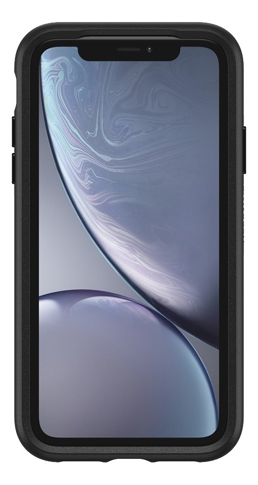 Afbeelding van Otterbox cover Otter + Pop Symmetry Series Case voor iPhone Xr Black from ColliShop