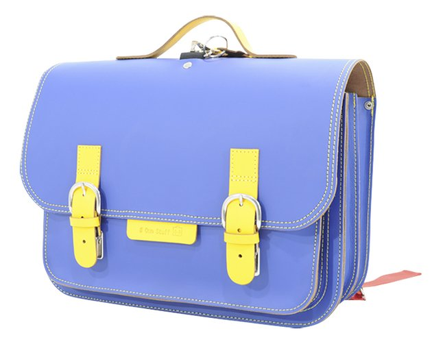 Image pour # Own Stuff cartable Cobalt/Yellow 38 cm à partir de ColliShop