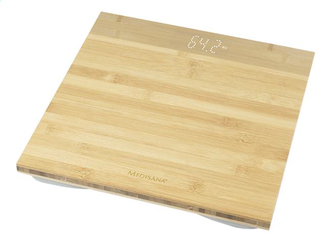 Medisana Pèse-personne Bamboo PS 440 bois clair