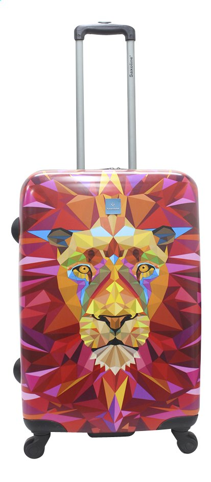 Image pour Saxoline Valise rigide Jungle Lion Spinner 68 cm à partir de ColliShop