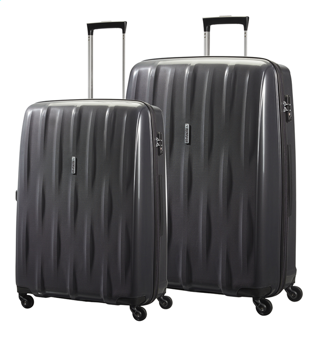 Afbeelding van American Tourister Harde trolleyset Waverider Spinner from ColliShop