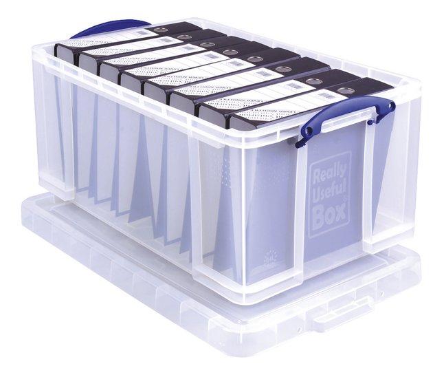 Really Useful Boîte de rangement 64 l pour classeurs