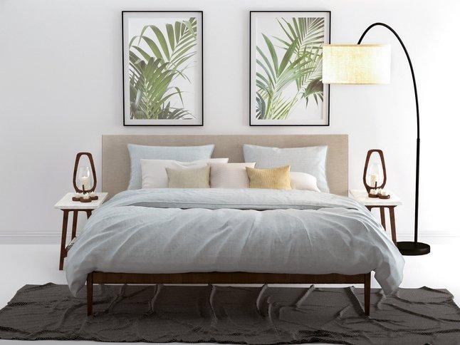 Image pour Zo! Home Housse de couette Lino coton vert menthe 260 x 220 cm à partir de ColliShop