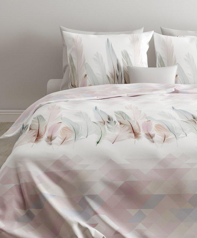 Image pour Zo! Home Housse de couette Ford white satin de coton 200 x 220 cm à partir de ColliShop