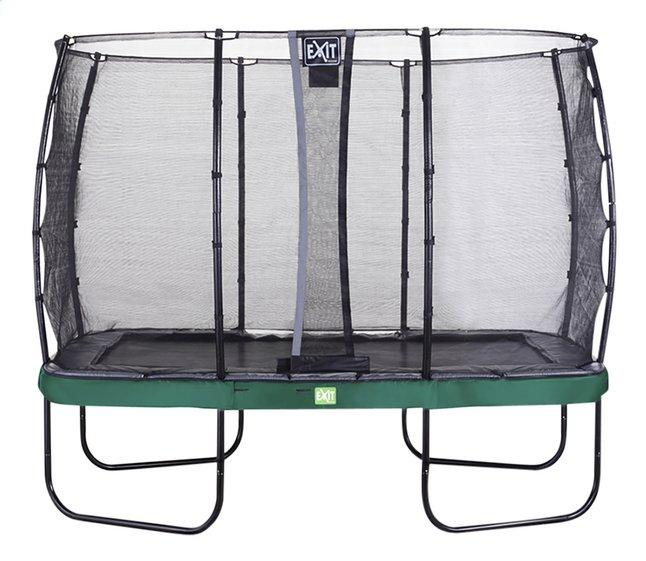 EXIT ensemble trampoline Elegant Economy L 3,66 x Lg 2,14 m vert