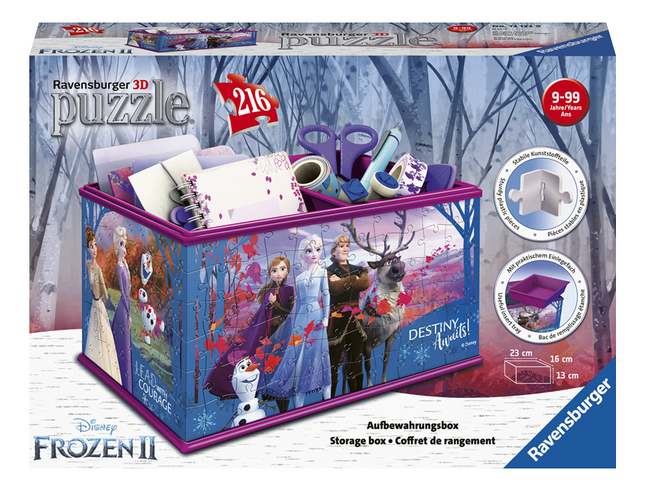 Afbeelding van Ravensburger 3D-puzzel Girly Girl Disney Frozen II Opbergdoos from ColliShop