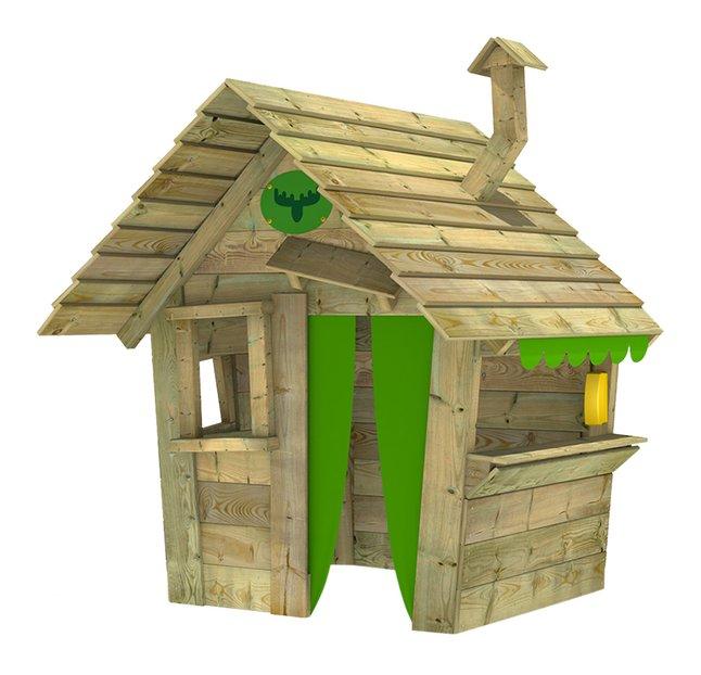 Afbeelding van Fatmoose houten speelhuisje Hippohouse Heavy XXL from ColliShop