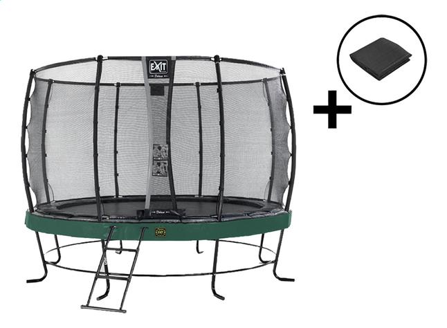 Image pour EXIT ensemble trampoline Elegant Premium Deluxe All-in-1 Ø 3,66 m vert à partir de ColliShop