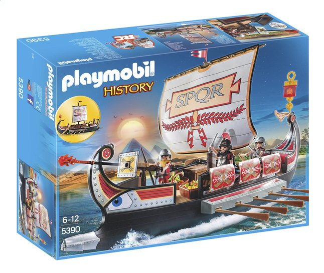 Afbeelding van Playmobil History 5390 Romeins galeischip from ColliShop