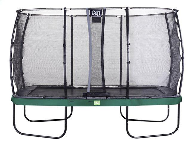 EXIT ensemble trampoline Elegant Economy L 4,27 x Lg 2,44 m vert