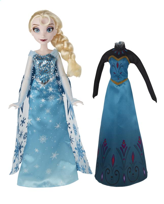 Image pour Poupée mannequin  Disney La Reine des Neiges Elsa avec tenue supplémentaire à partir de ColliShop
