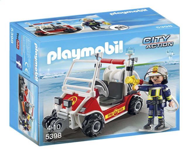 Afbeelding van Playmobil City Action 5398 Brandweerbuggy from ColliShop