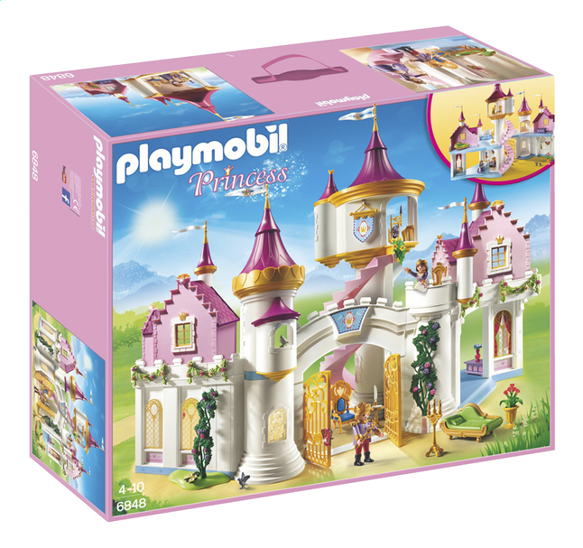Image pour Playmobil Princess 6848 Grand château de princesse à partir de ColliShop