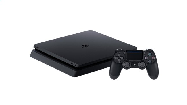 Afbeelding van PS4 Slim console 500 GB zwart from ColliShop