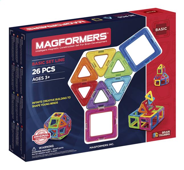 Afbeelding van Magformers Basic Set Line 26 stuks from ColliShop