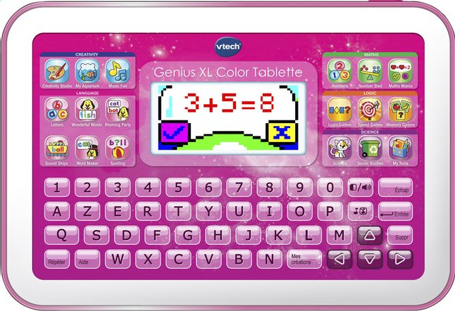 Afbeelding van VTech Genius XL Color Tablette rose FR from ColliShop