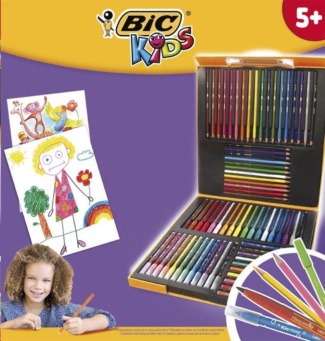 Image pour Bic set de coloriage Coloring Box à partir de ColliShop