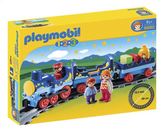 Image pour Playmobil 1.2.3 6880 Train étoilé avec passagers et rails à partir de ColliShop