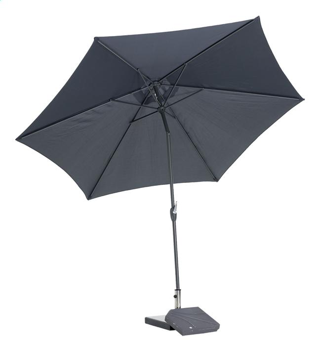 Afbeelding van Aluminium parasol diameter 3,5 m grijs from ColliShop