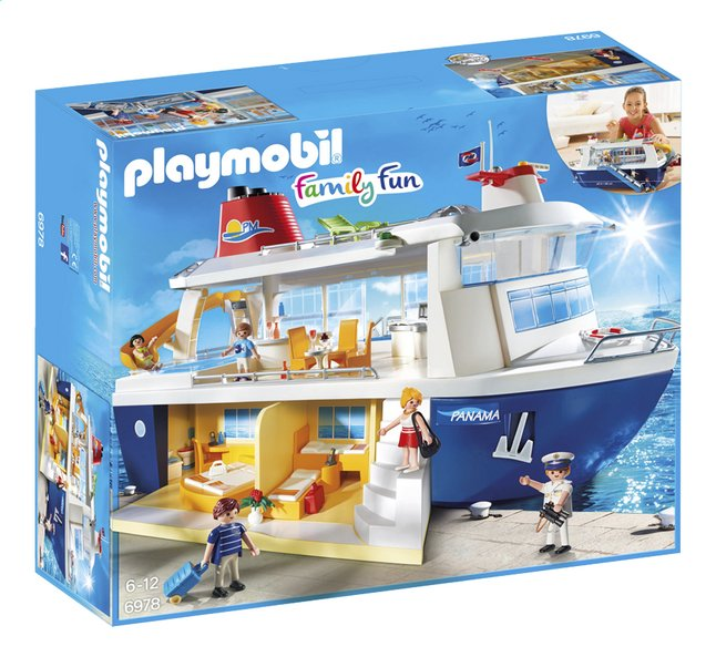 Afbeelding van Playmobil Family Fun 6978 Cruiseschip from ColliShop