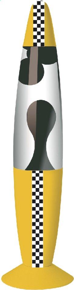 Image pour Lampe à lave Kreative New York Taxi avec bande en damier à partir de ColliShop