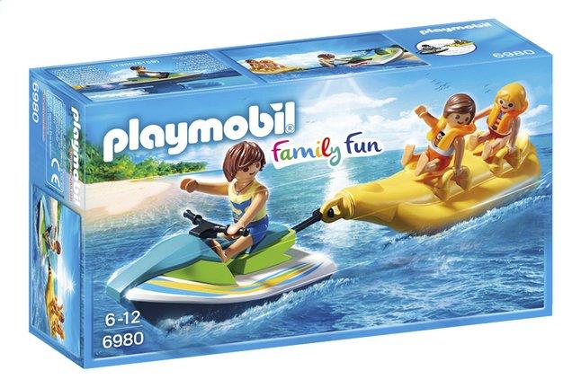 Image pour Playmobil Family Fun 6980 Vacanciers avec jet-ski et banane à partir de ColliShop