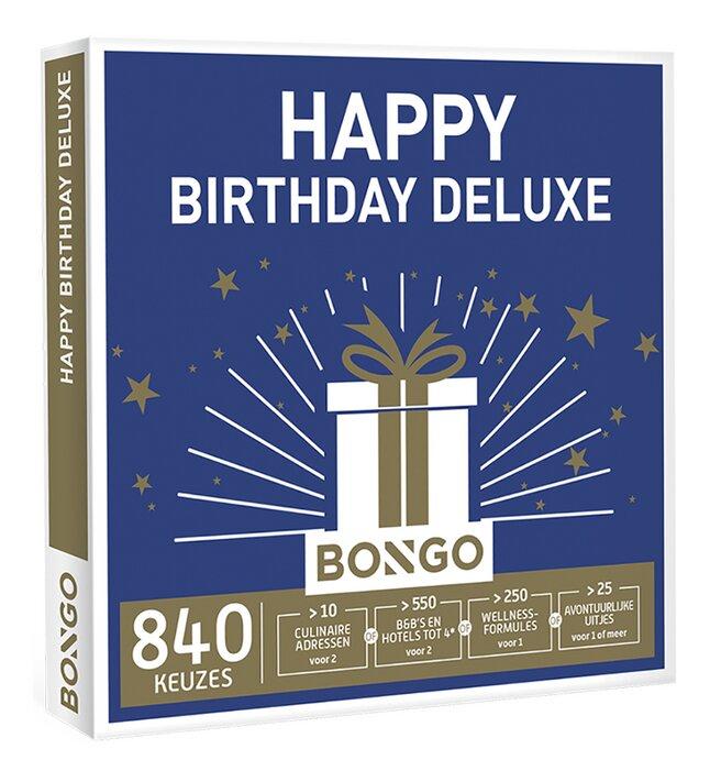 Afbeelding van Bongo Happy Birthday Deluxe from ColliShop