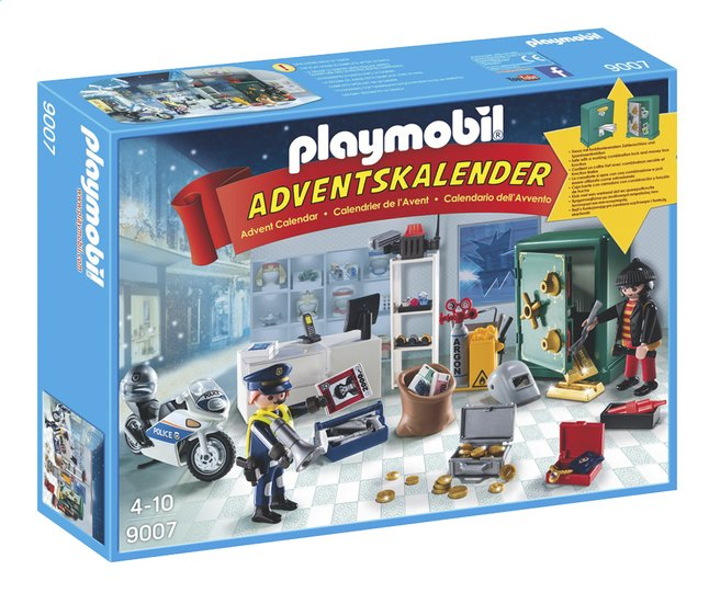 Afbeelding van Playmobil Christmas 9007 Adventskalender Op heterdaad betrapt from ColliShop