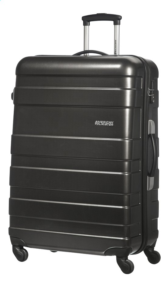 Afbeelding van American Tourister Harde reistrolley Pasadena Spinner black/gold from ColliShop