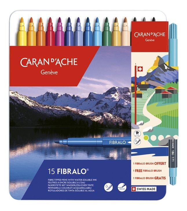 Caran d'Ache feutre Fibralo - 16 pièces