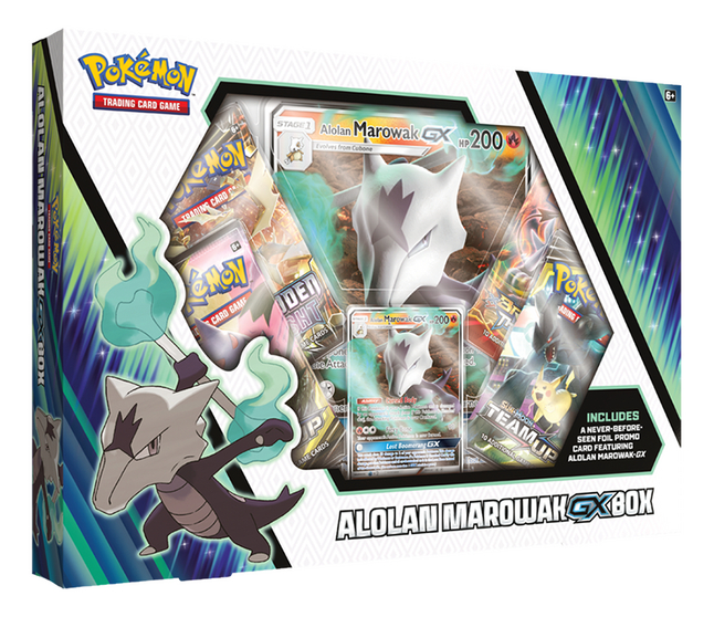 Afbeelding van Pokémon Trading Cards Alolan Marowak-GX Box from ColliShop