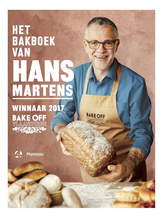 Afbeelding van Kookboek Het Bakboek van Hans Martens - Winnaar Bake Off Vlaanderen 2017 from ColliShop
