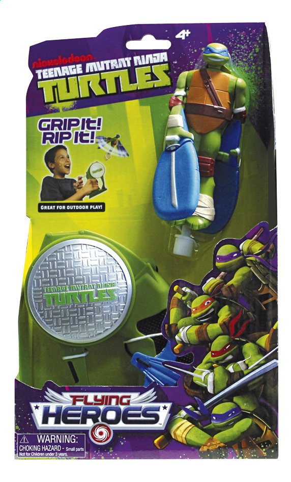 Afbeelding van Figuur Teenage Mutant Ninja Turtles Flying Heroes Leonardo from ColliShop