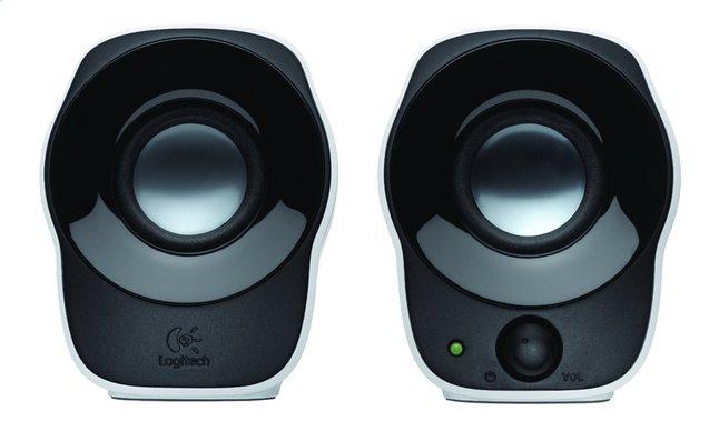 Image pour Logitech ensemble de haut-parleurs Z120 noir/blanc à partir de ColliShop