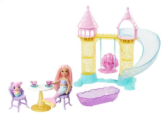 Barbie speelset Dreamtopia Chelsea zeemeermin speeltuin