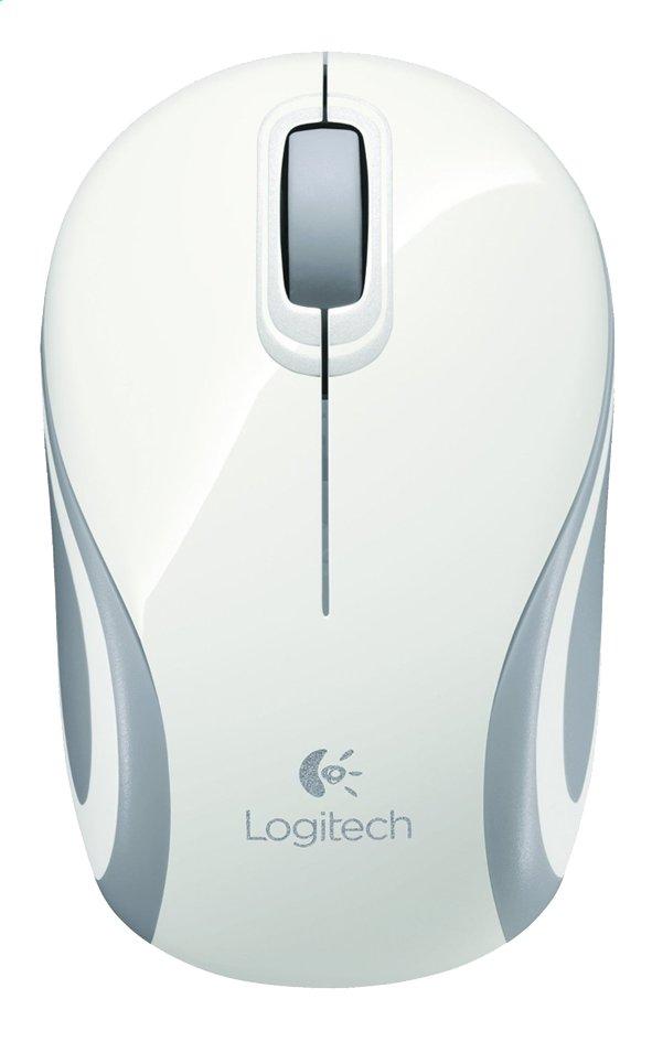Image pour Logitech mini-souris optique sans fil M187 blanc à partir de ColliShop